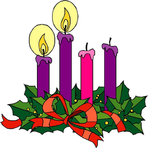 300x299 Catholic Advent Wreath Clipart Free Images