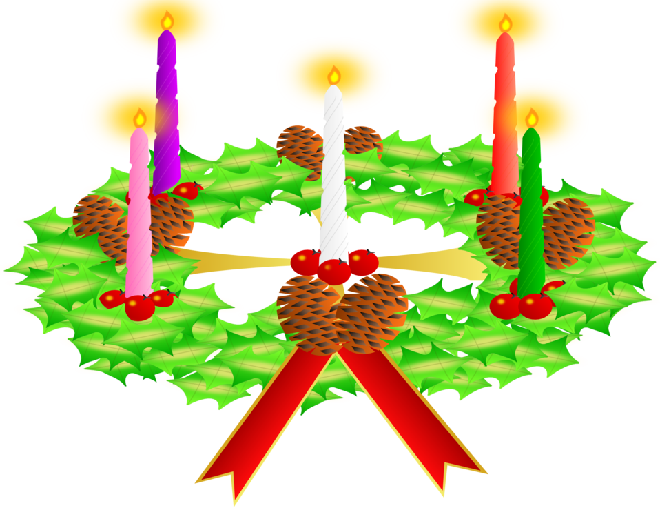958x740 Public Domain Clip Art Image Advent Wreath. Advent Crown Id