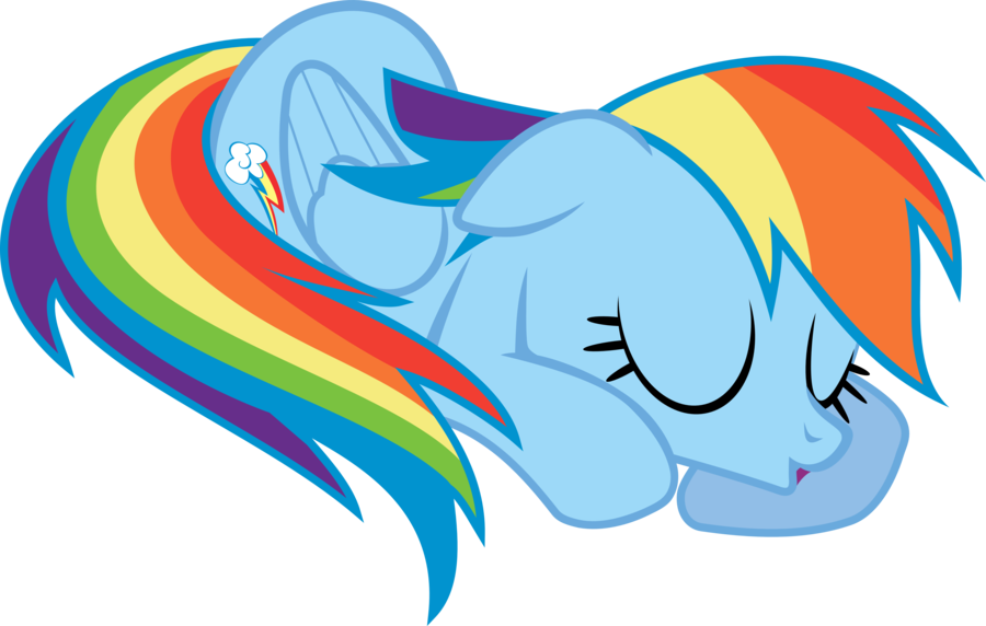 900x572 Nap Time Rainbow Dash By Uxyd On Clip Art