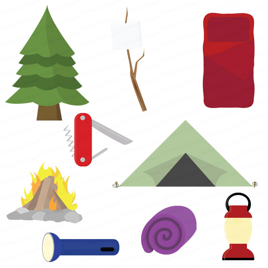 900x900 Adventure Clipart Camping Gear