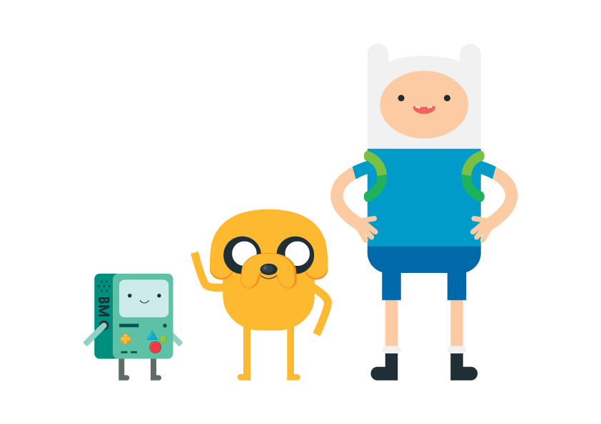 842x595 Adventure Time By Tae Yun