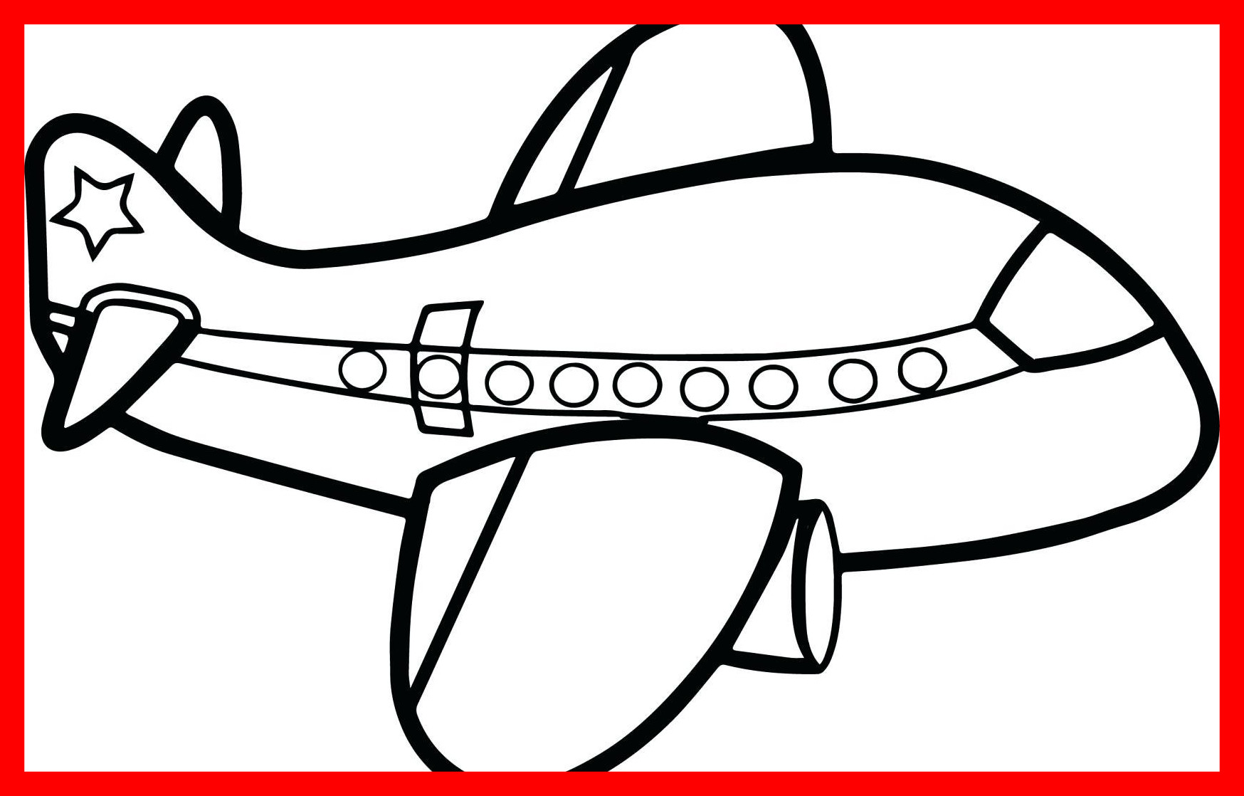 1748x1118 Appealing Coloring Airplane Page Aeroplane Colouring Of Styles