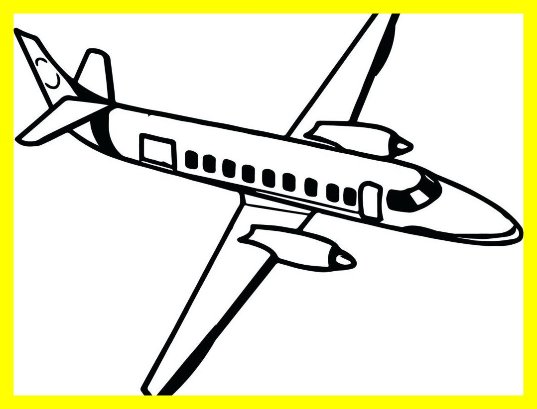 1078x822 Stunning Coloring Pages Planes Airplane Cartoon For Kids