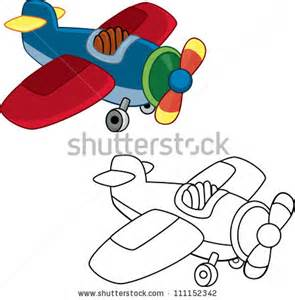 295x300 Vintage Airplane Coloring Pages