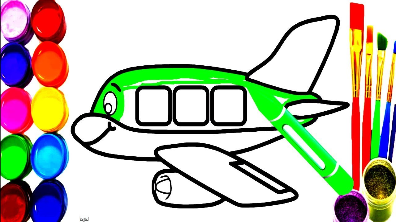 Aeroplane Colouring Pages at GetDrawings.com | Free for personal use ...