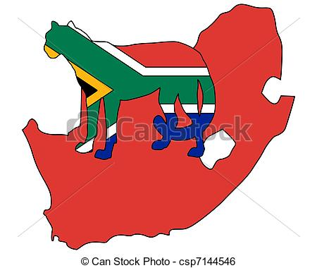 450x380 Clipart South Africa