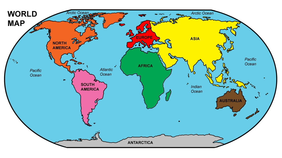 1200x675 Cartoon World Map Clip Art Copy Top 78 Free Ripping Clipart