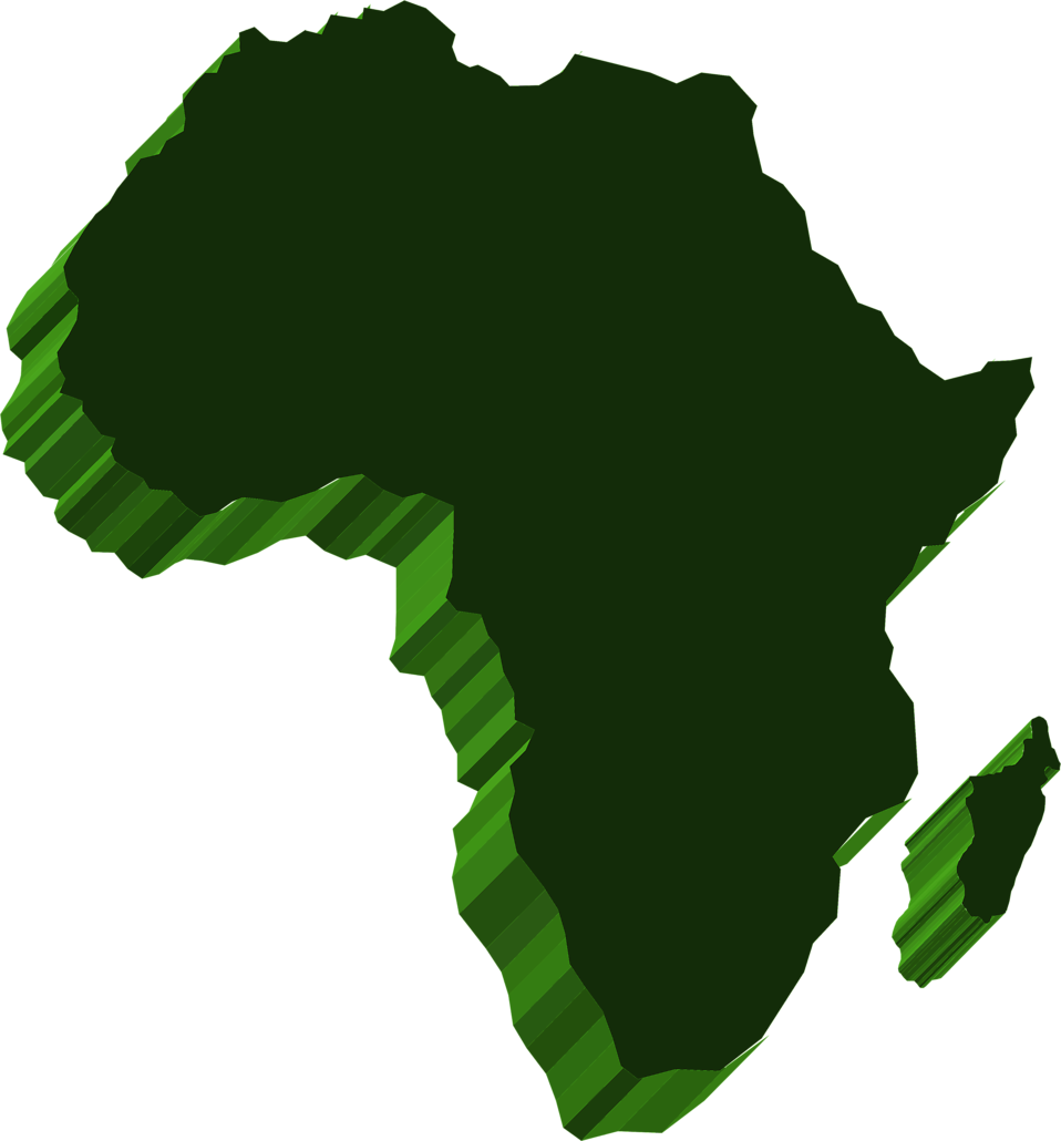 958x1030 Africa Free Stock Photo Illustrated Map Of Africa