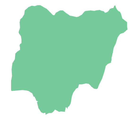 560x519 Map Of Nigeria Clip Art