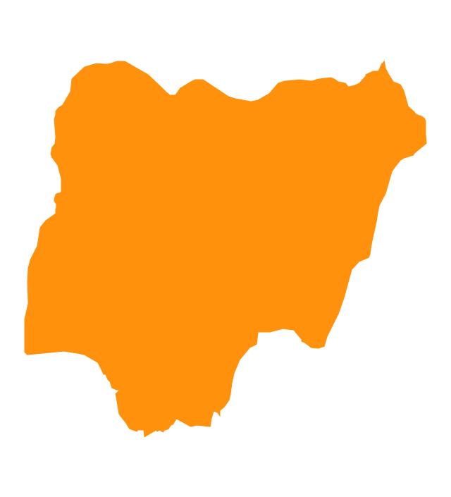 640x705 Nigeria Map Clipart