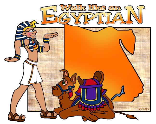 648x516 Africa Clip Art By Phillip Martin, Egyptian Map