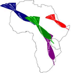 291x299 Africa Imperialism Map 2 Clip Art