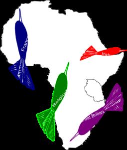 255x299 Africa Imperialism Map Clip Art