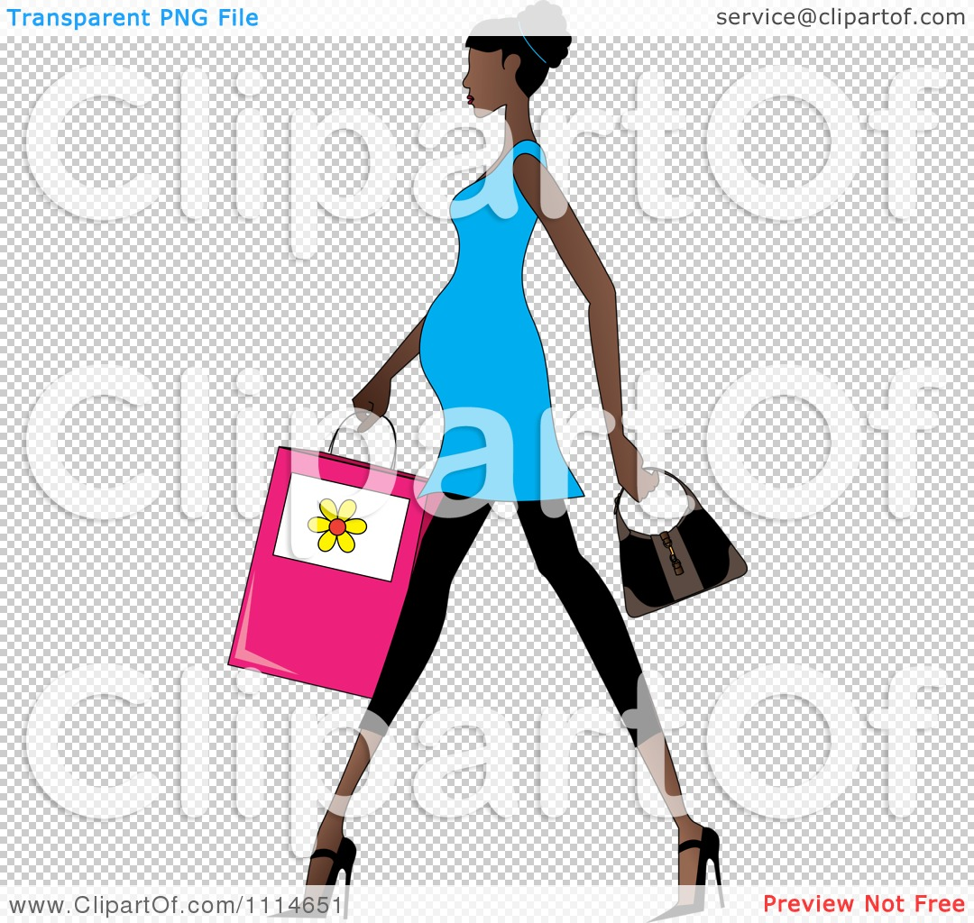 1080x1024 Clipart Slenderfricanmerican Pregnant Woman Walking
