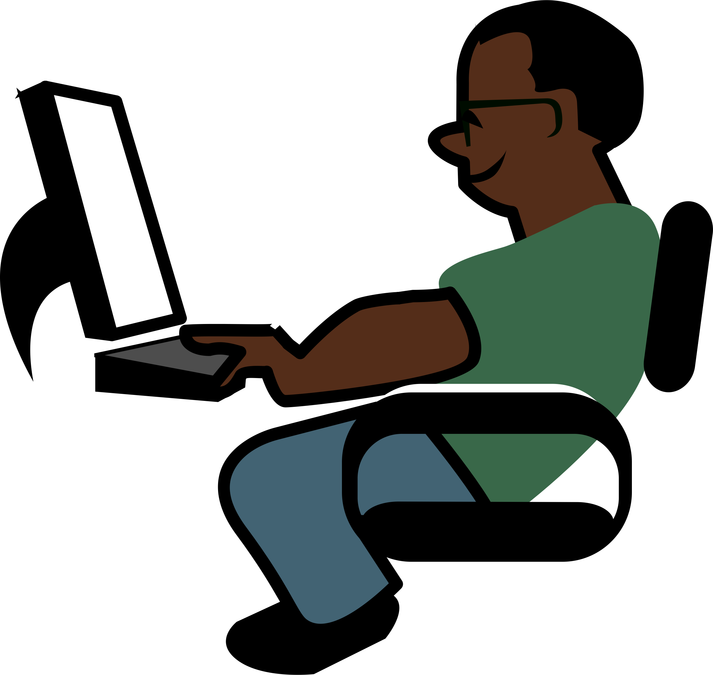 2400x2273 African Programmer Icons Png