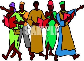 350x257 African People Clipart