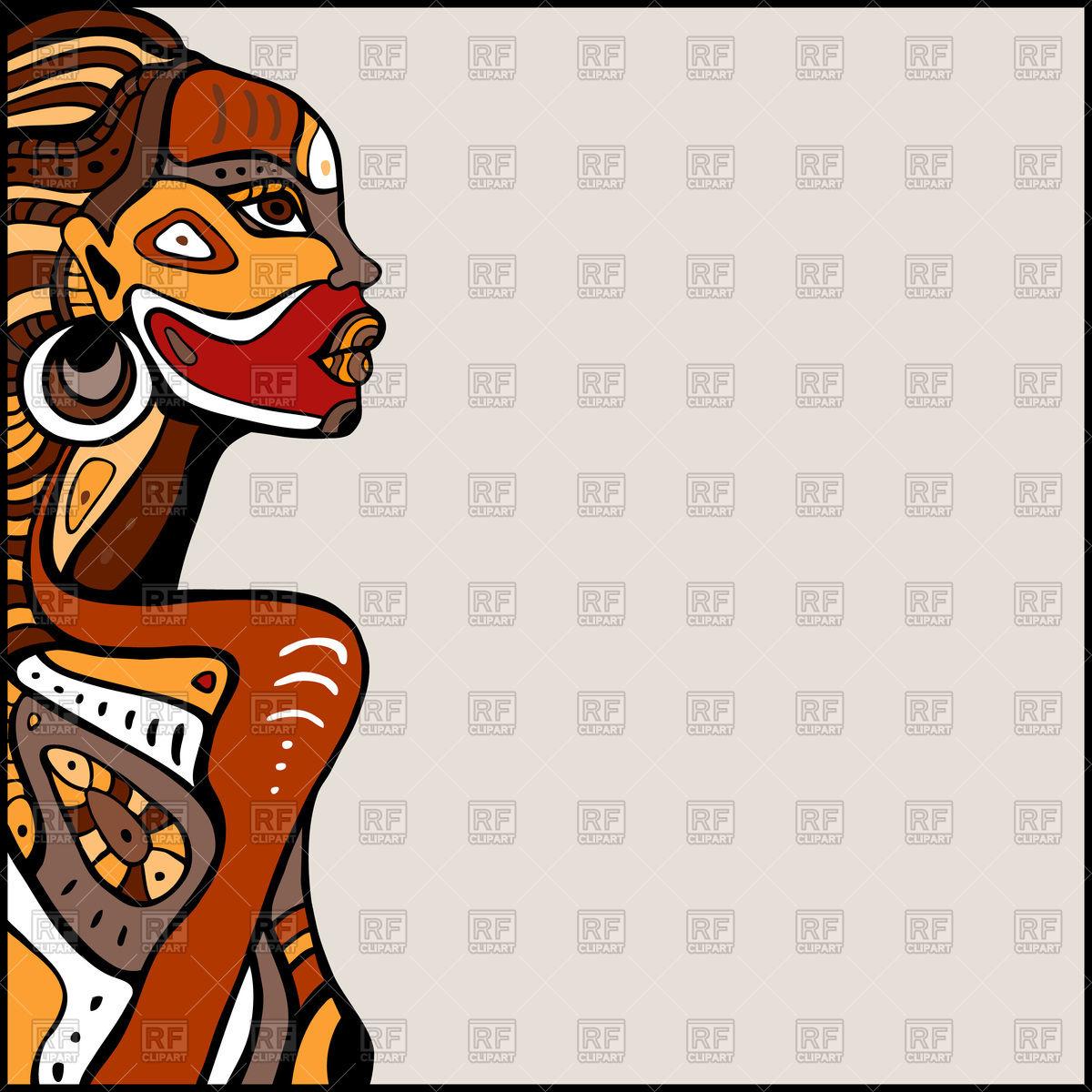 1200x1200 Beautiful African Woman