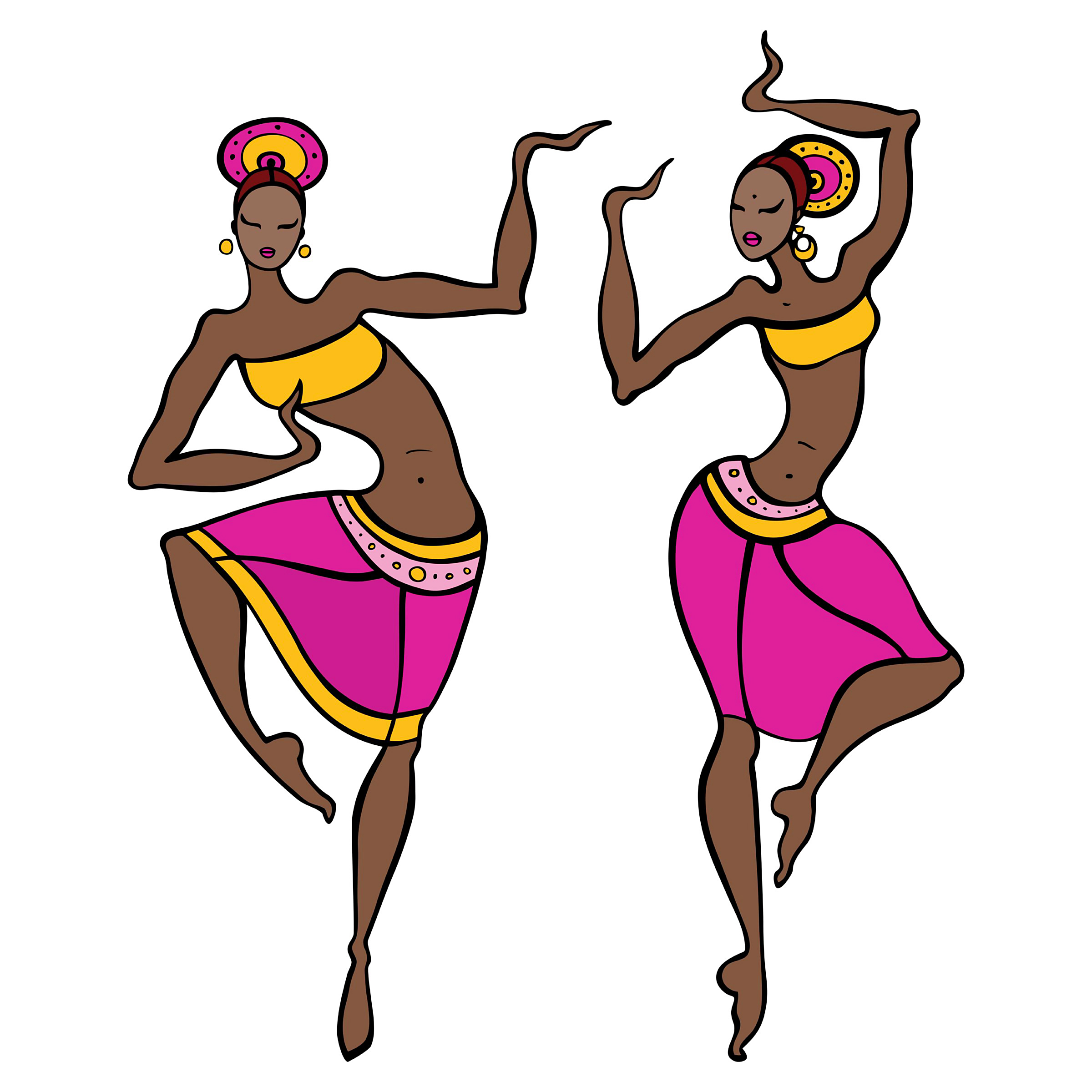 2400x2400 Traditional Clipart West African Dance 4005319