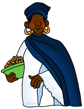 278x360 Africa People Cliparts