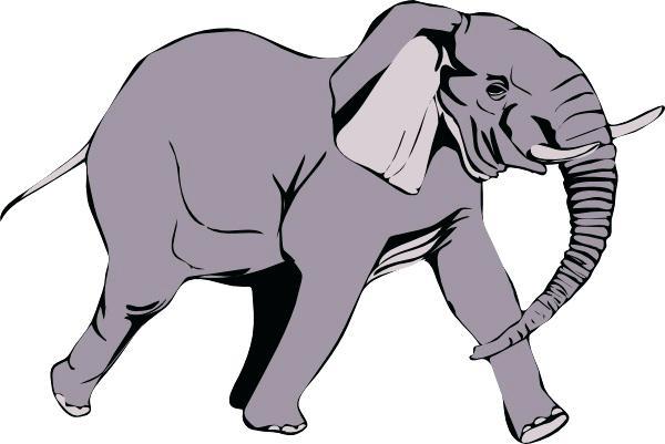 600x401 Free Clip Art Elephants Themusicfoundry Future