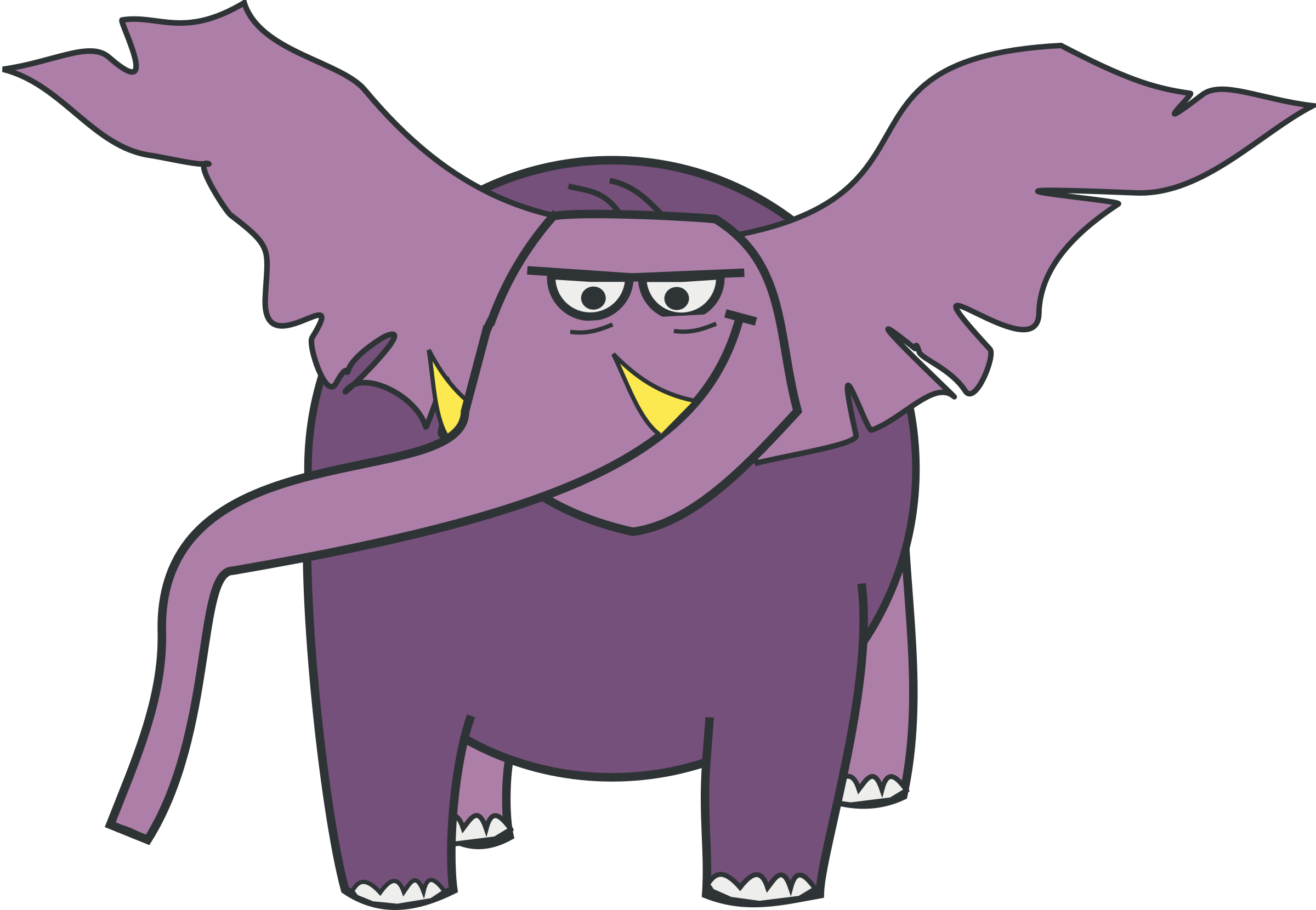 2400x1660 Baby Elephant Clipart Images And Pictures