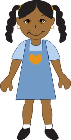 African Girl Clipart