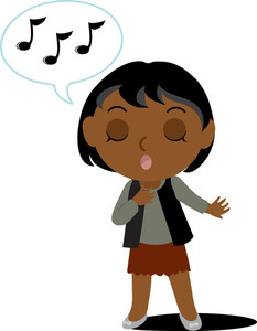 233x300 Free Singing Clipart Image 0071 1102 2813 4721 Best