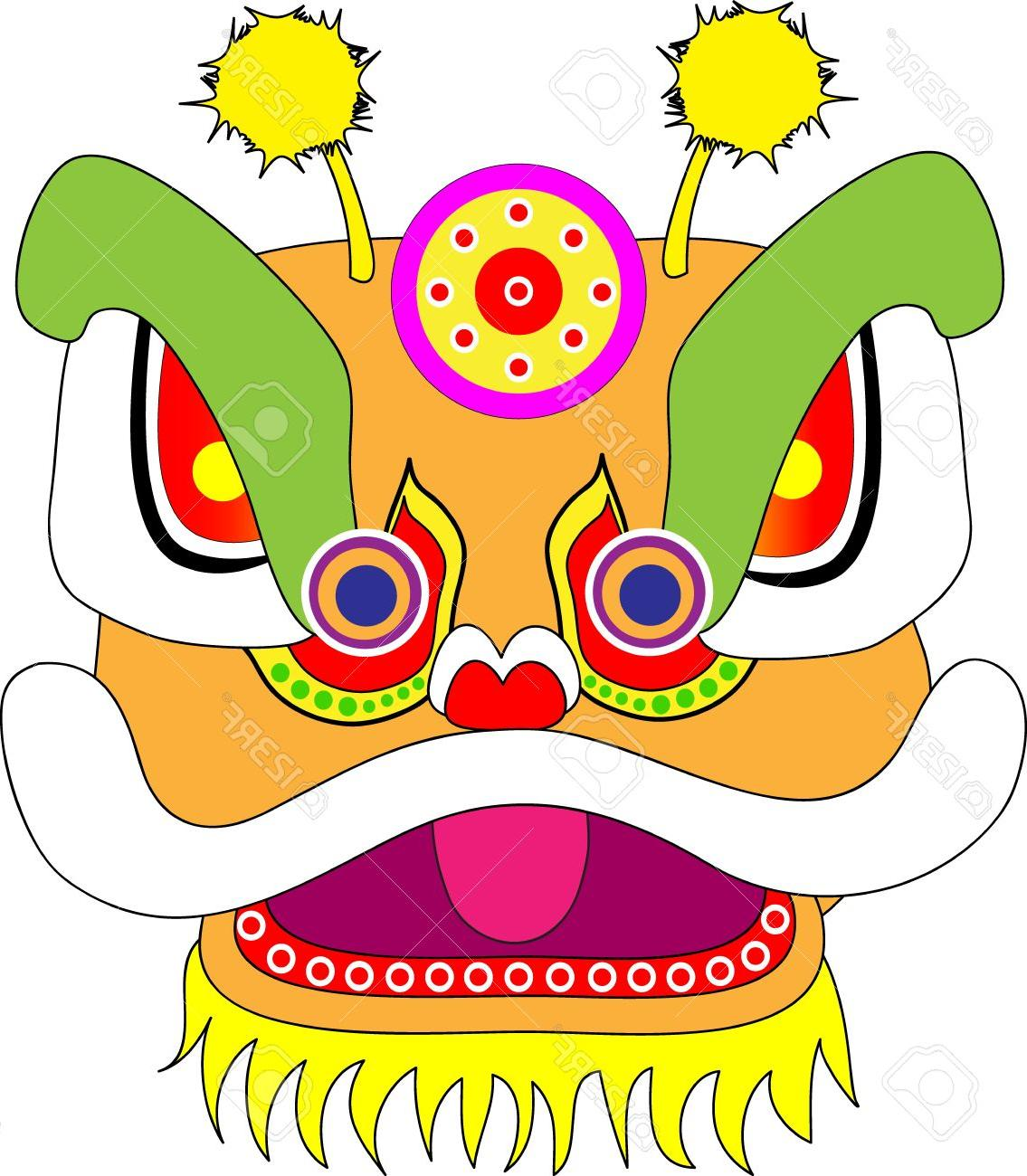 1135x1300 Best Masks Clipart Chinese Dragon Cdr
