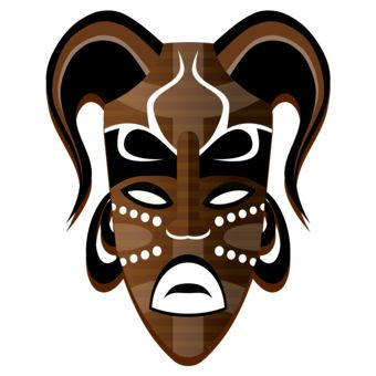340x340 7 Best Year 9 Mask Project Images On African Masks