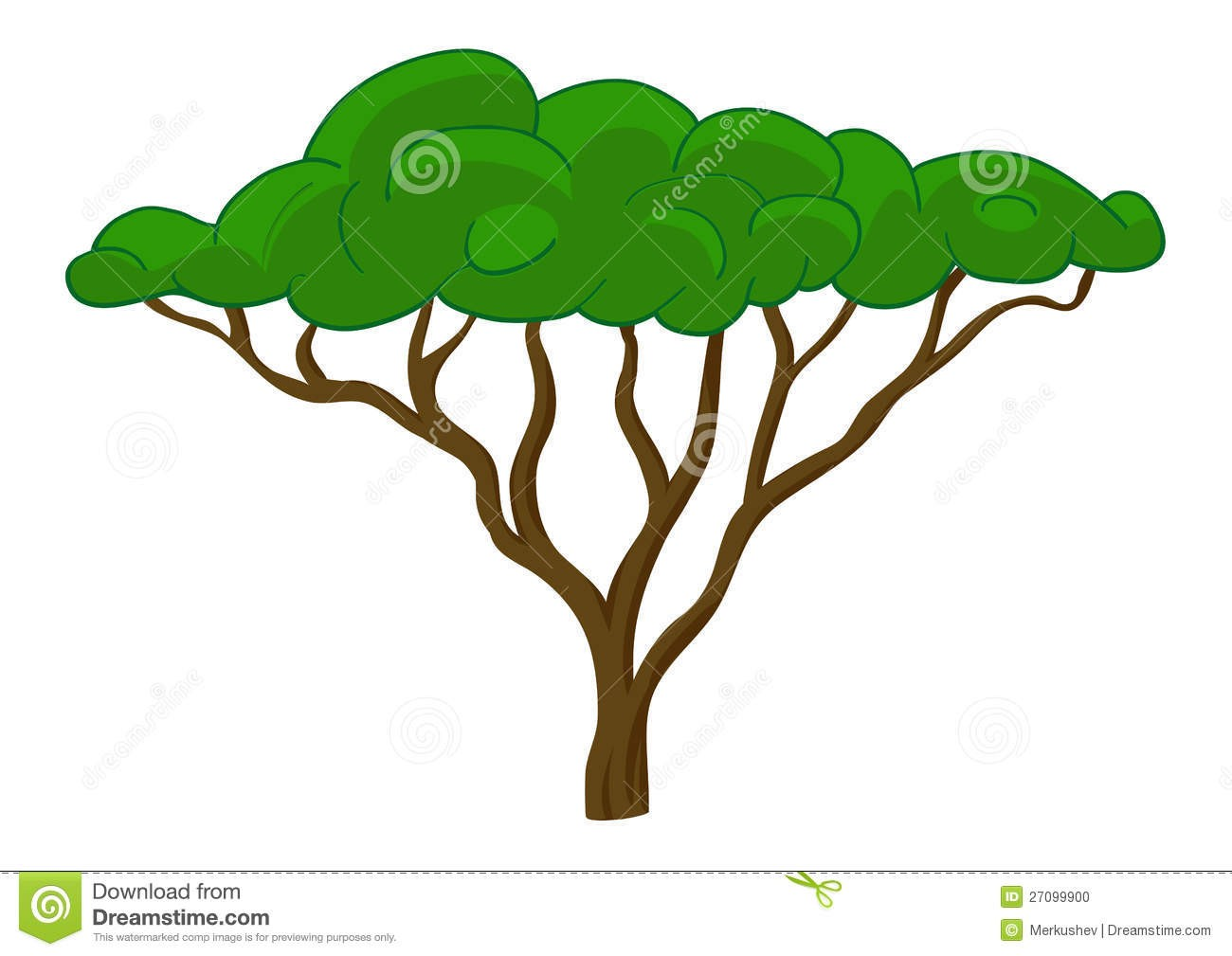 1300x1009 African Tree Clipart Clip Art Net Incredible Safari