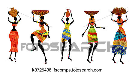 450x245 Projectsspiration Africa Clipart Clip Art Of African Women