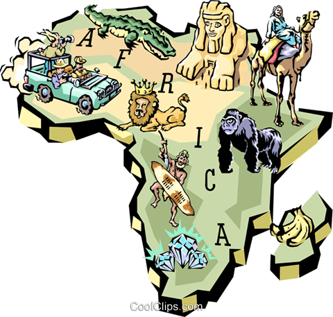 480x457 Africa Royalty Free Vector Clip Art Illustration Worl0612