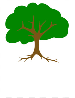 260x340 Tree Shrub Cartoon Clip Art