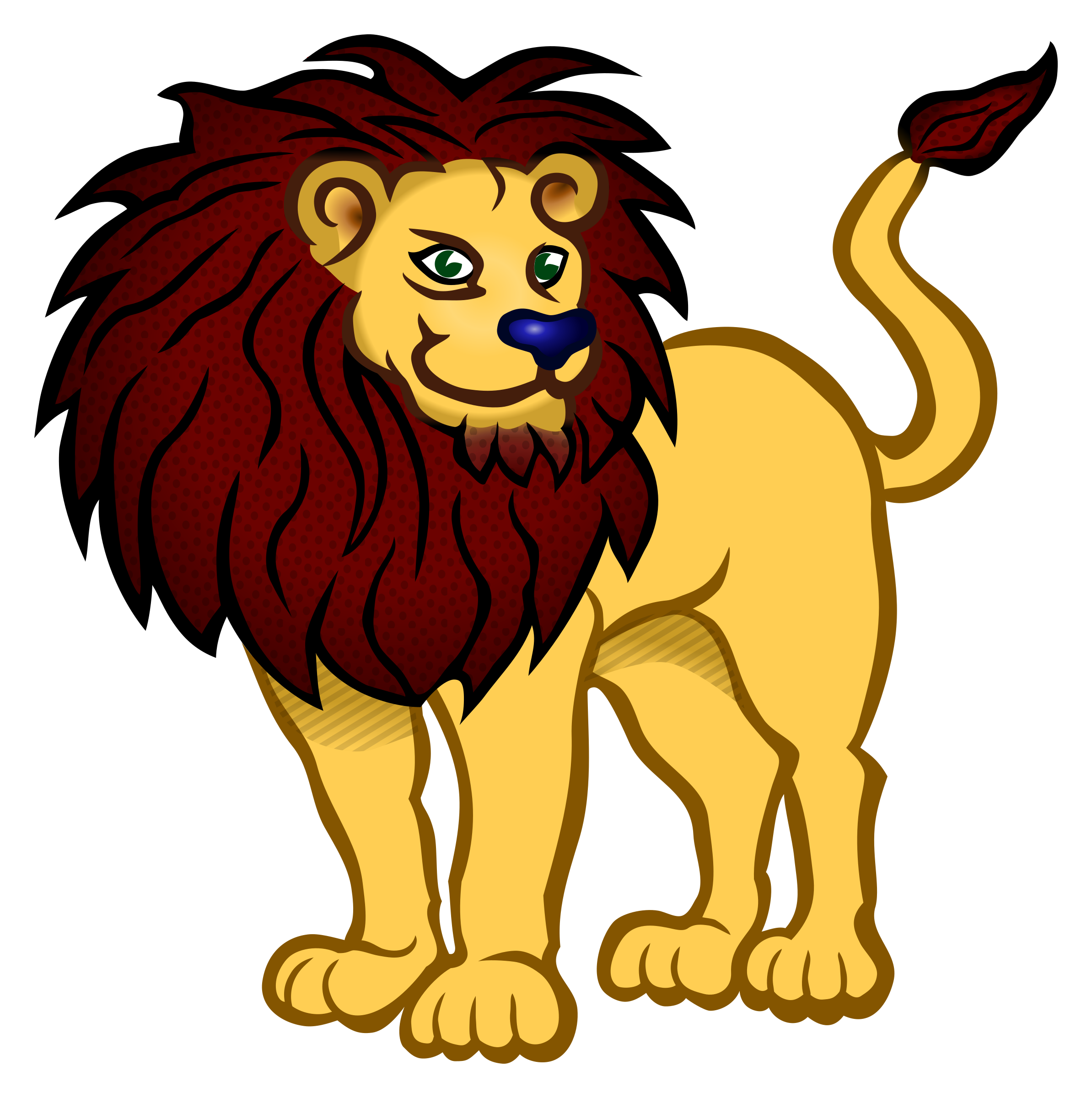 2387x2400 Africa Lion Clipart, Explore Pictures