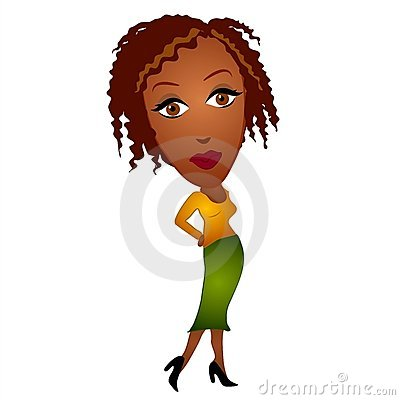 400x400 Clipart Afro Woman Collection