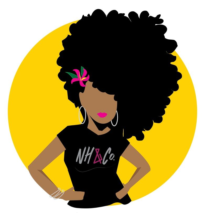 800x843 Cliparts Natural Hair Free Download Clip Art