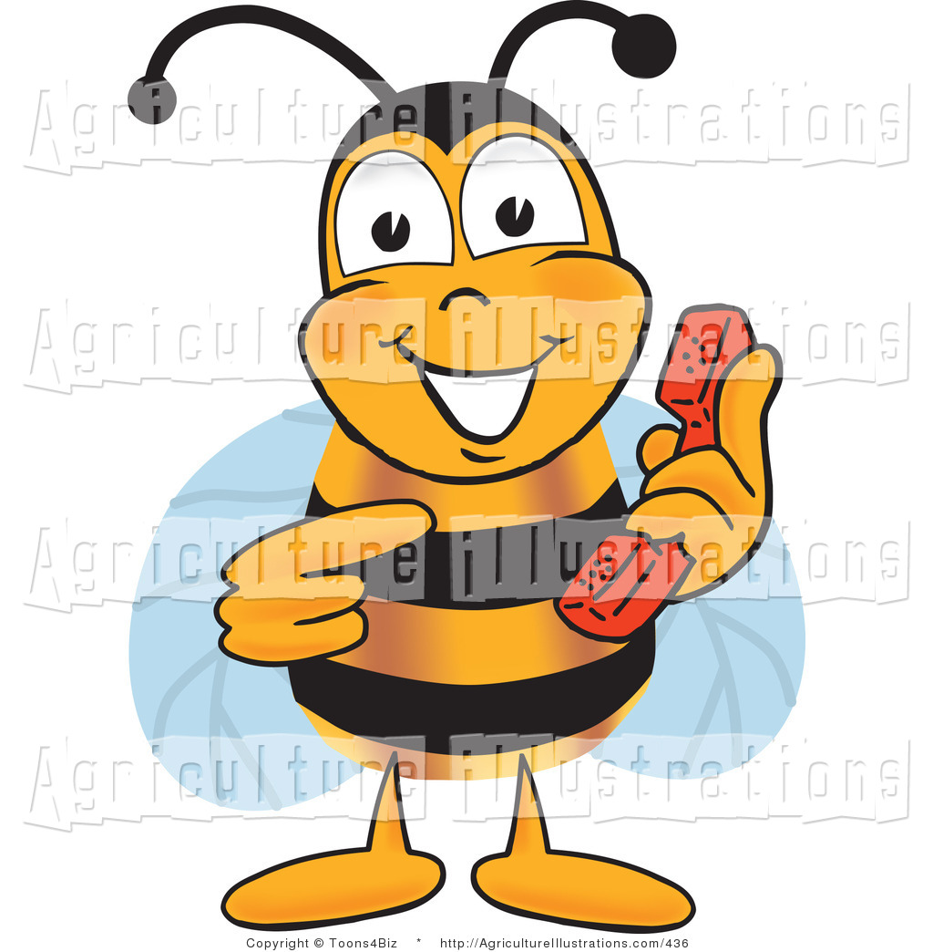 1024x1044 Agriculture Clipart Of A Bumble Bee Mascot Cartoon Character