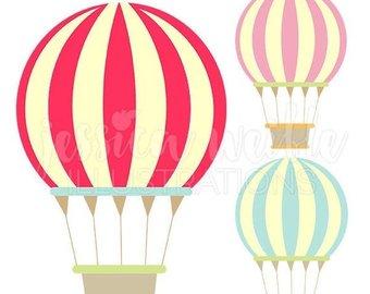 340x270 Air Balloon Clip Art Etsy