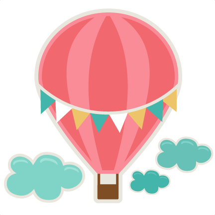 432x432 Hot Air Balloon Svg Cutting File For Scrapbooks Svg Cut Files Free