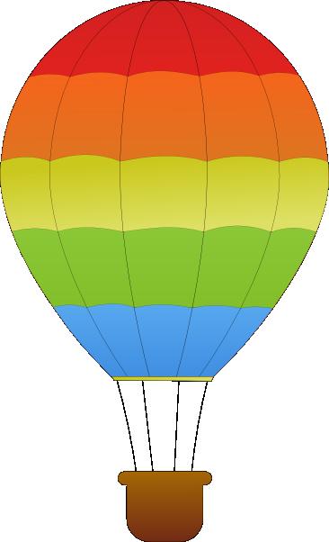 366x602 Hot Air Balloon Clip Art Clipart Panda