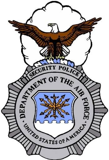 350x515 Air Force Security Forces Clip Art