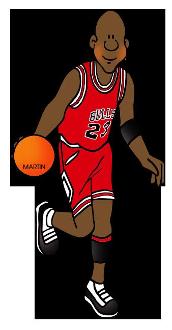 338x648 Phenomenal Michael Jordan Clipart Free Muscular Clip Art