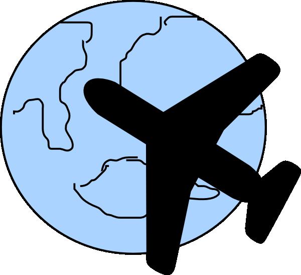 600x547 Air Plane Clipart