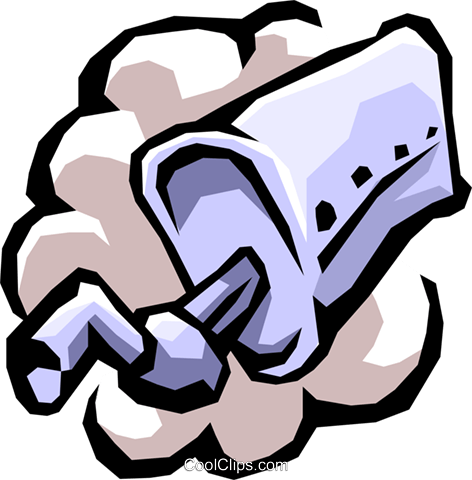 472x480 Muffler With Air Pollution Royalty Free Vector Clip Art