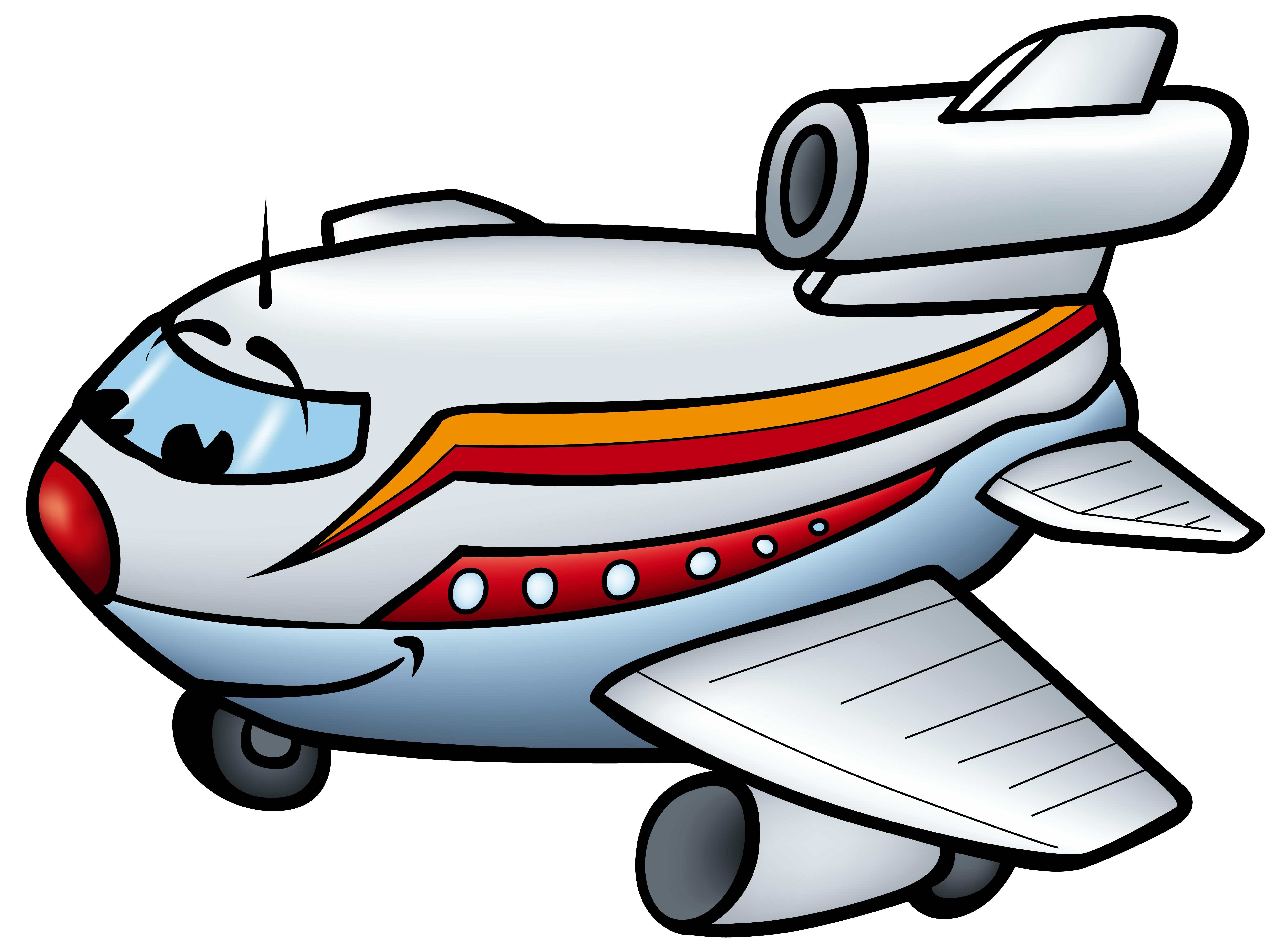 6611x4940 Aeroplane Cartoon