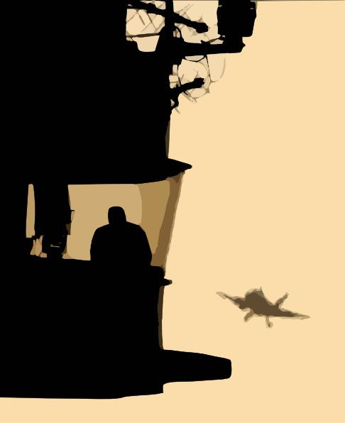 486x596 Fa 18 Hornet Approached Aircraft Carrier For Landing. Clip Art