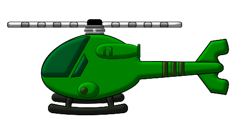 486x262 Military Helicopter Cliparts