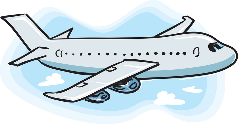 800x416 Clipart Airplane Clipartlook
