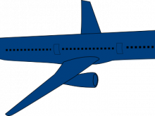 220x165 Airplane Clipart Png Airplane Aircraft Boeing 747 Clip Art