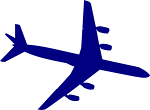 300x220 7056 Free Airplane Silhouette Clip Art Public Domain Vectors